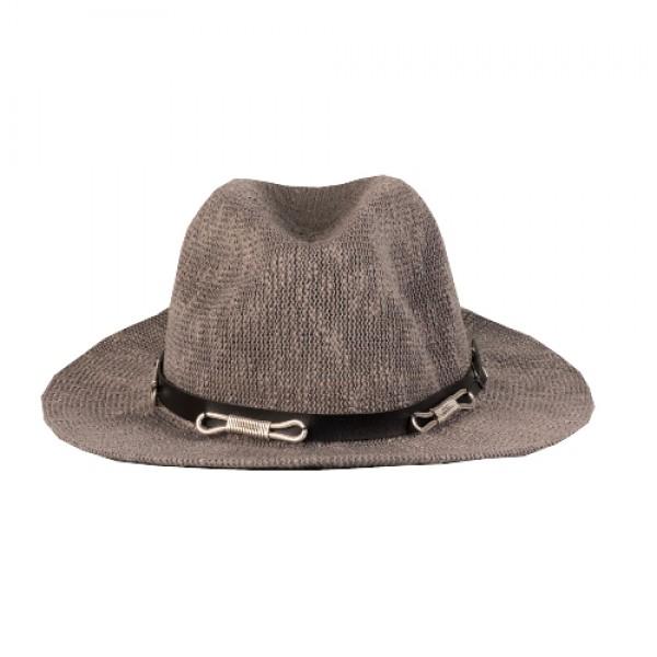 Ψάθινο Γκρι Καπέλο - Infinity