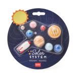 Σετ 9 γόμες - πλανήτες ηλιακό σύστημα