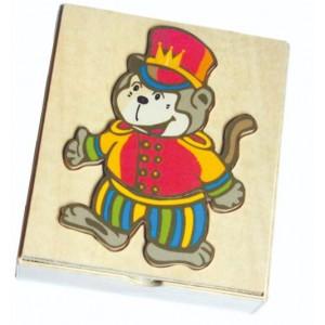 Παιχνίδι Ενσφηνώματα Πίθηκος