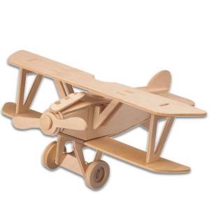 Παιχνίδι Ξύλινο Παζλ Αεροπλάνο
