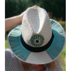 Ψάθινο Καπέλο Μάτι