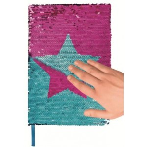 Sparkly star Notebook Moses_Σημειωματάριο αστέρι